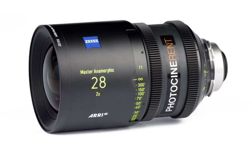 Zeiss Master Anamorphic 28mm T1.9