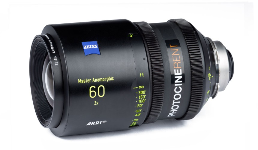 Zeiss Master Anamorphic 60mm T1.9