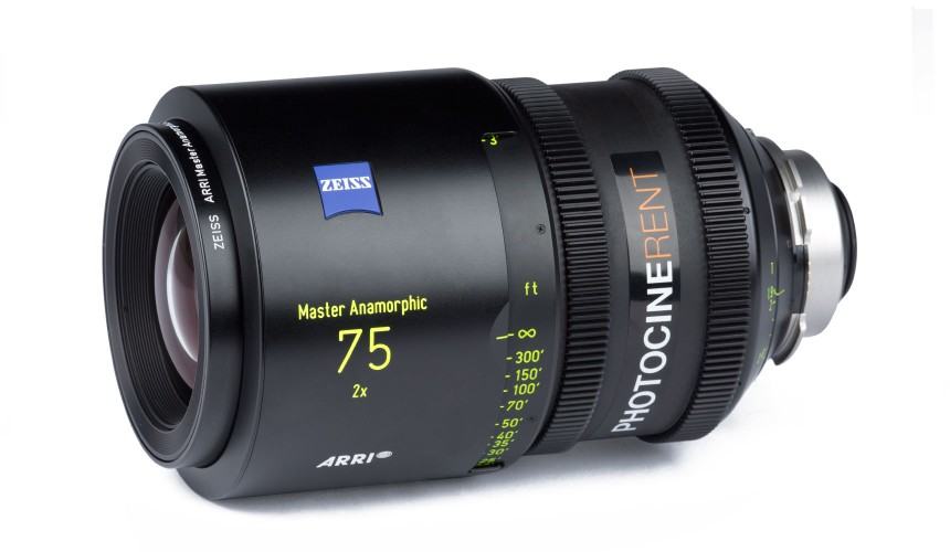 Zeiss Master Anamorphic 75mm T1.9