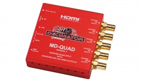 Decimator MD-QUAD 3G/HD/SD-SDI Quad Split