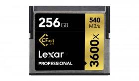 Lexar CFast 2.0 256GB Professional 540MB/s