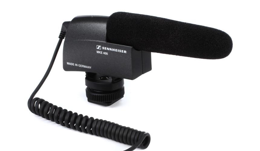 Sennheiser MKE400 Micro Directionnel