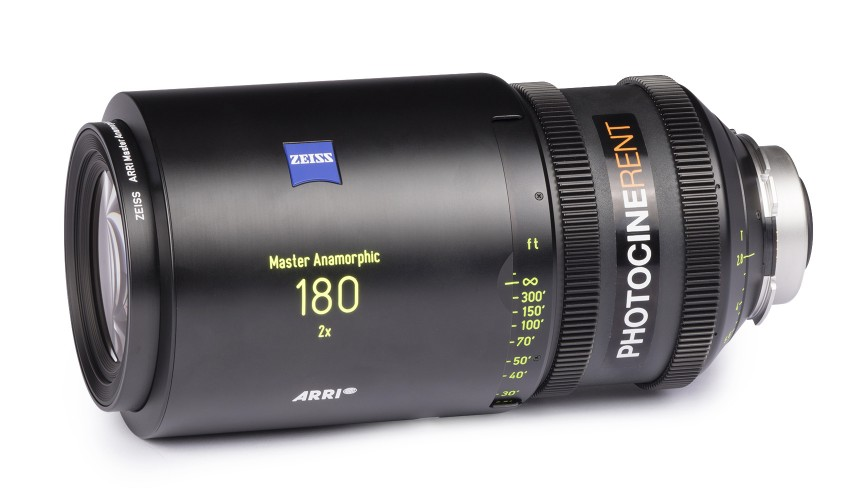Zeiss Master Anamorphic 180mm T2.8