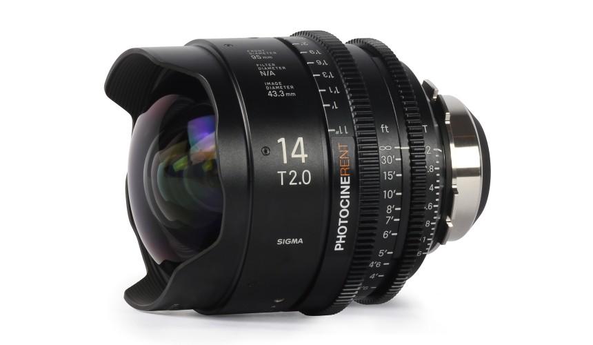 Sigma Cine Prime 14mm T2 (FF)
