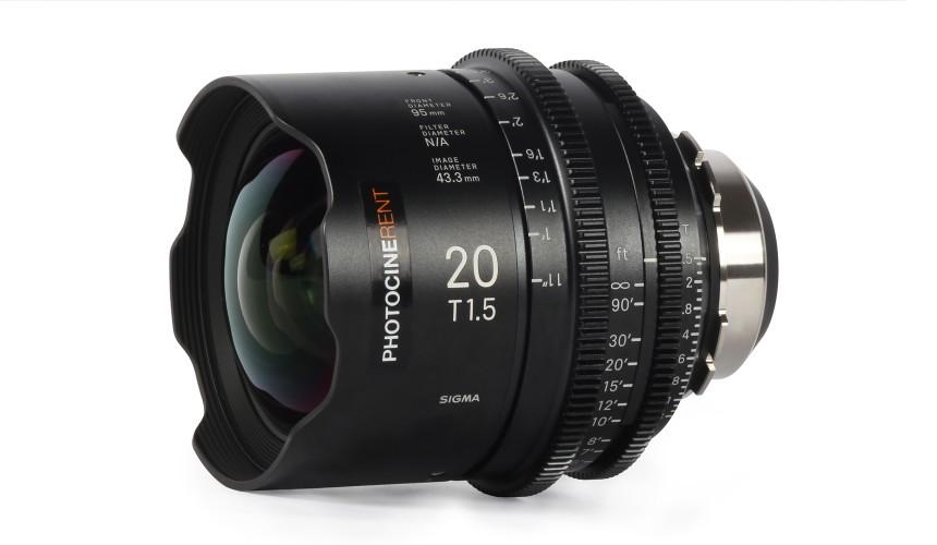 Sigma Cine Prime 20mm T1.5 (FF)