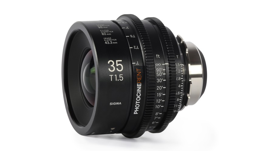 Sigma Cine Prime 35mm T1.5 (FF)