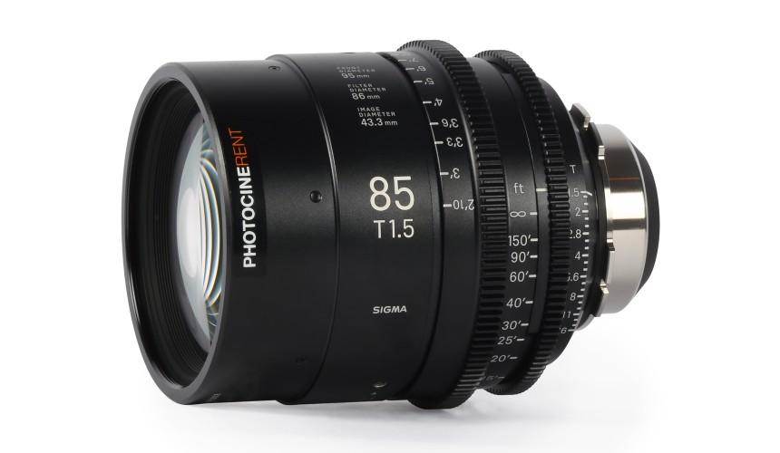Sigma Cine Prime 85mm T1.5 (FF)