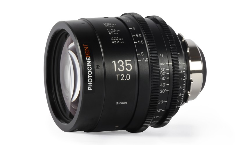 Sigma Cine Prime 135mm T2 (FF)