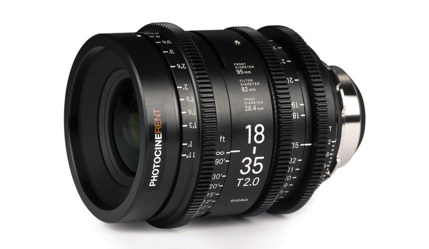 Sigma Cine Zoom 18-35mm T2 (S35)