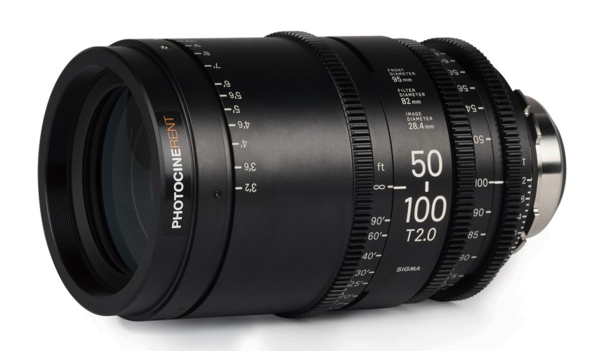 Sigma Cine Zoom 50-100mm T2 (S35)