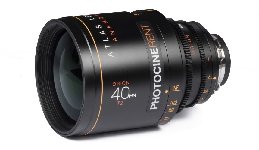 Atlas Lens Co - Orion Anamorphic 40mm T2.0