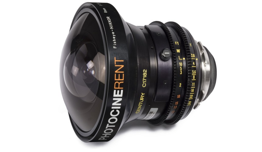 Nikon / Schneider Fisheye NIKKOR 8mm T2.8