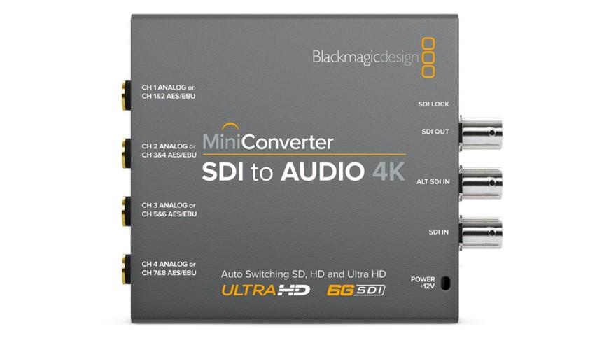 Blackmagic Mini Converter SDI to Audio 4K