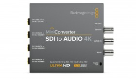 Blackmagic Mini Converter SDI vers Audio 4K