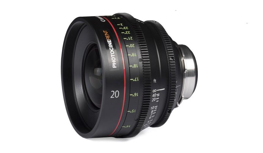 Canon CN-E 20mm T1.5