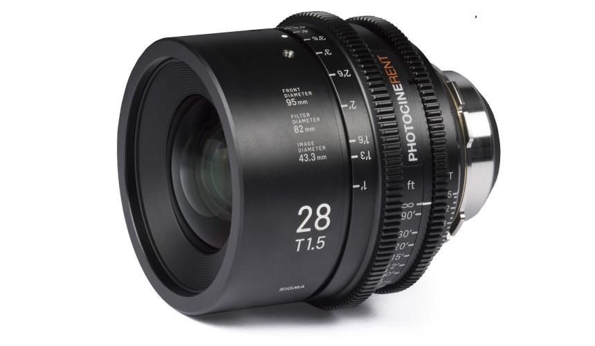Sigma Cine Prime 28mm T1.5 (FF)