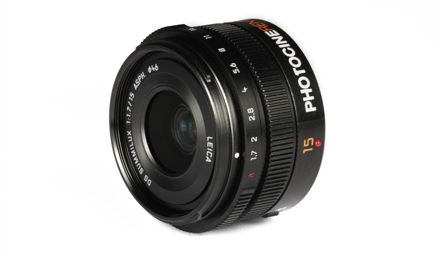 Panasonic Lumix 15mm f/1.7