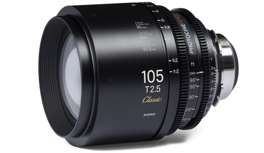 Sigma Classic Prime 105mm T2.5 (FF)