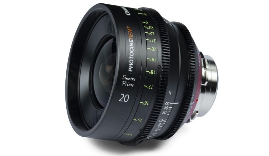 Canon Sumire Prime 20mm T1.5