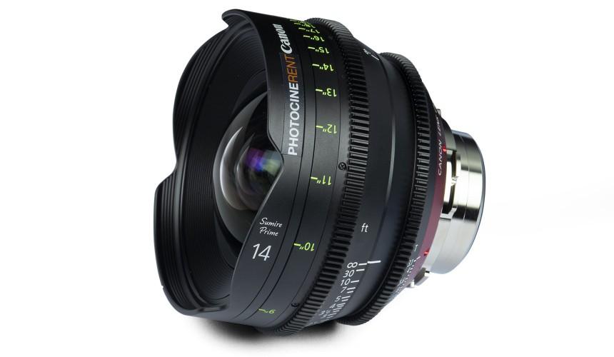 Canon Sumire Prime 14mm T3.1