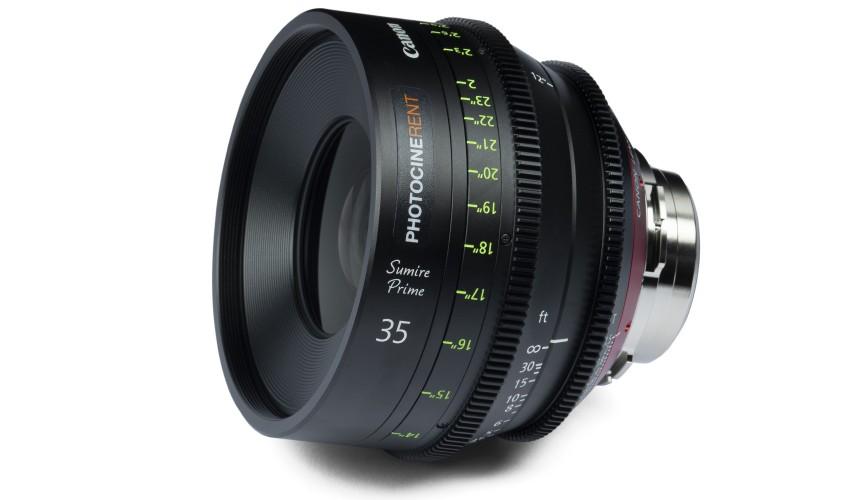 Canon Sumire Prime 35mm T1.3