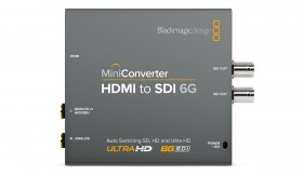 Blackmagic Mini Converter HDMI vers SDI 6G
