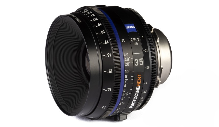 Compact Prime CP.3 35mm/T2.1