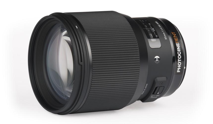 Sigma 85mm f/1.4 (FF)