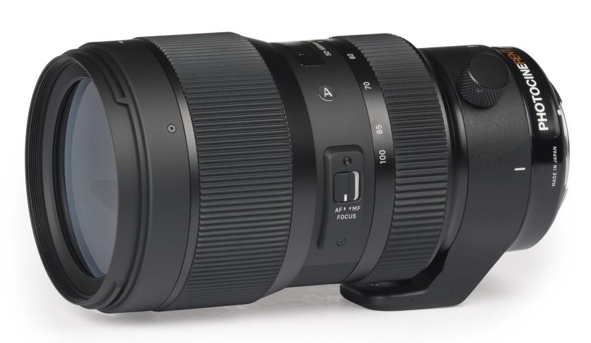 Sigma 50-100mm f/1.8 (S35)