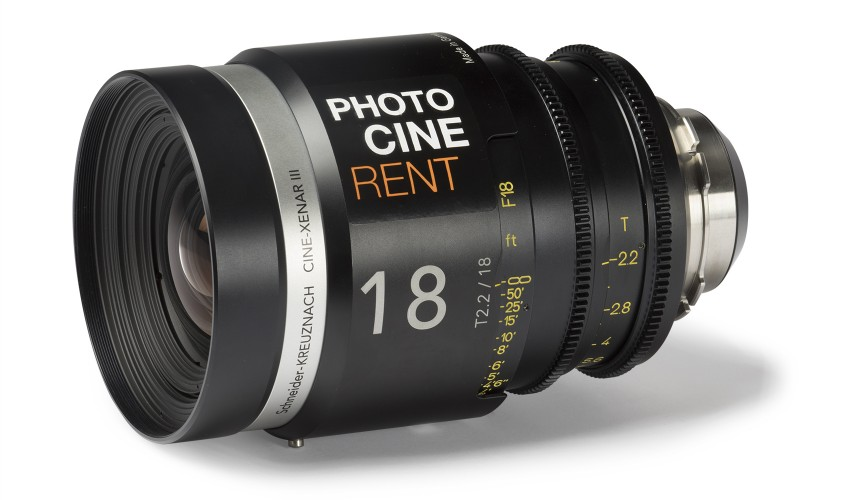 Cine-Xenar 18mm T2.2