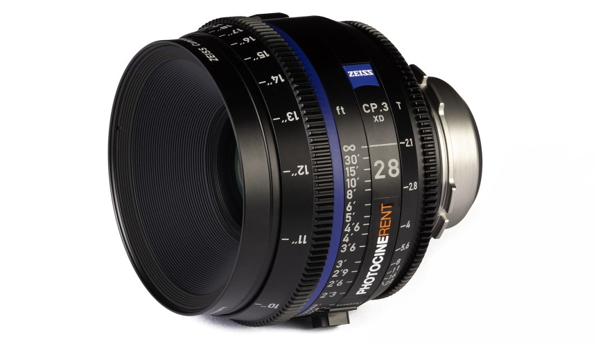 Compact Prime CP.3 28mm/T2.1