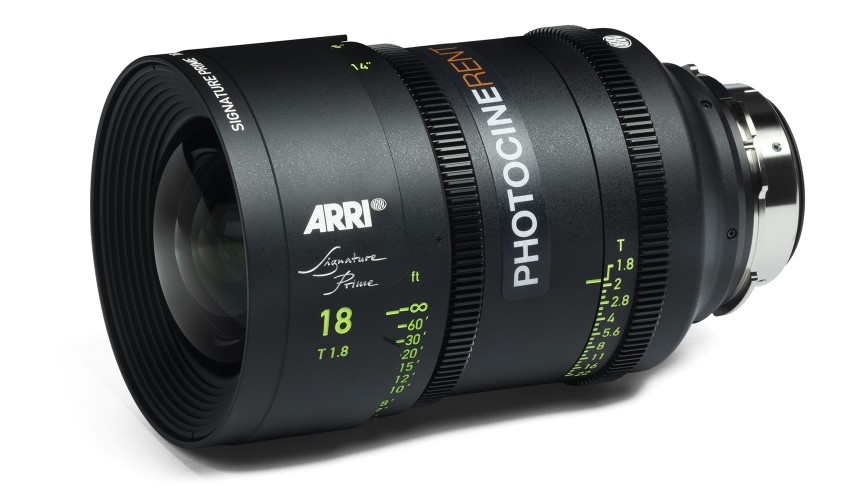 ARRI Signature Prime 18mm T1.8