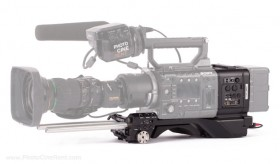 Sony - CBK-55BK - ENG Style Shoulder Kit for PMW-F55/F5
